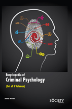 Encyclopedia Of Criminal Psychology (Set Of 3 Volumes)